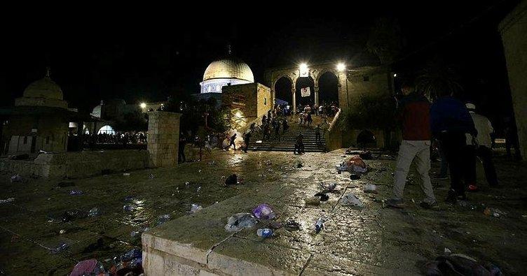 Türkiye'den üst üste Kudüs'teki İsrail terörüne tepki! Mescid-i Aksa kırmızı çizgimizdir!