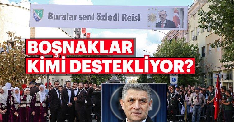 Sancaklı Boşnaklardan Cumhurbaşkanı Erdoğan'a destek