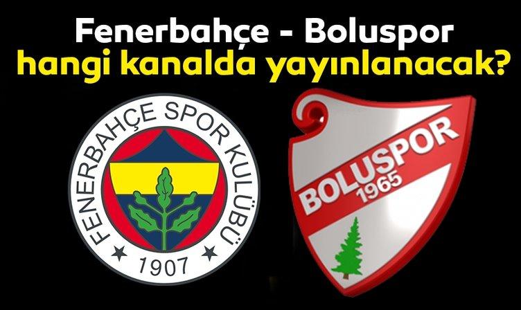 Fenerbahçe Boluspor maçı hangi kanalda yayınlanacak? Fenerbahçe Boluspor hazırlık maçı ne zaman ve saat kaçta başlayacak?