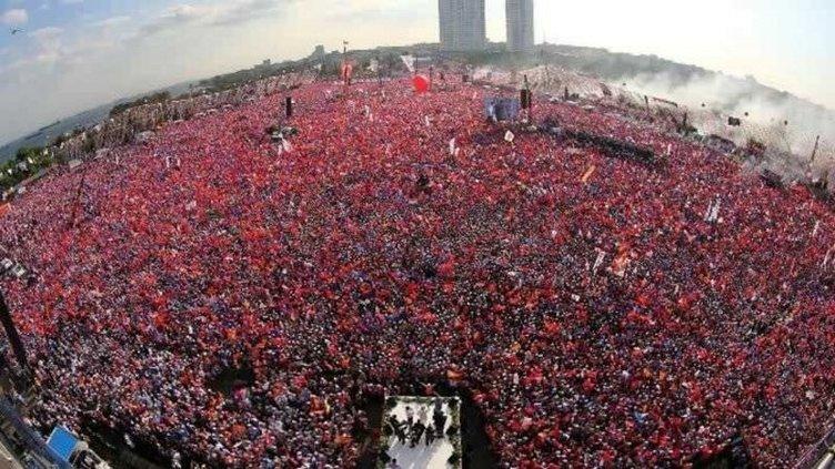 AK Parti Yenikapı mitinginde kaç kişi vardı?