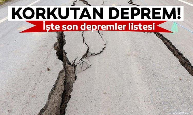 Kandilli Rasathanesi'nden son dakika açıklaması! Çankırı'da bir deprem oldu! Ankara'da da deprem hissedildi