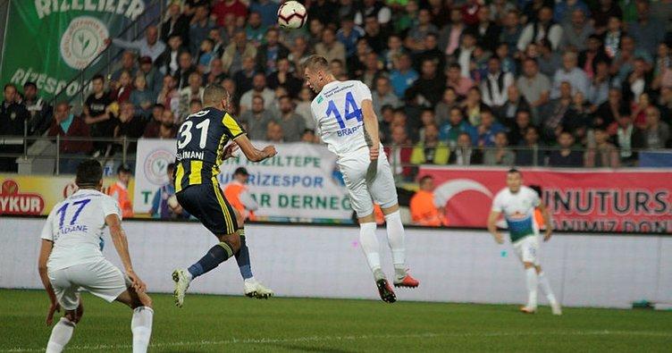 Çaykur Rizespor - Fenerbahçe [CANLI]