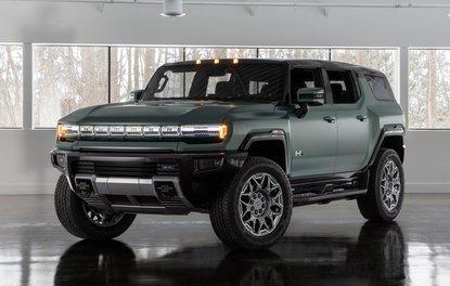 Hummer'ın SUV'u tanıtıldı