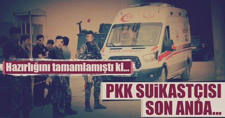 Hakkari'de suikast hazırlığındaki PKK'lı öldürüldü