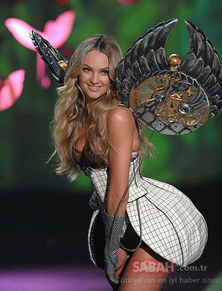 Victoria's Secret mankenlerinden Candice Swanepoel, her paylaşımından ufak bir servet kazanıyor!