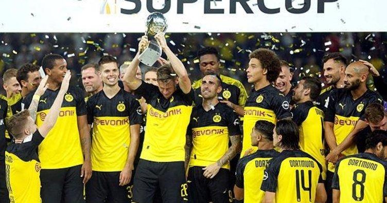 Almanya'da Süper Kupa'nın sahibi Borussia Dortmund