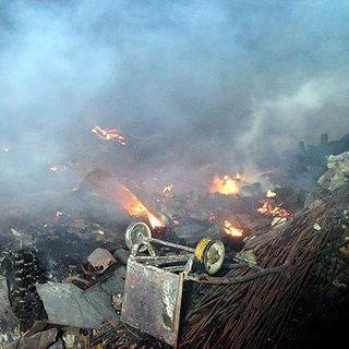 Kastamonu'da 9 ev, 1 ahır yandı (3)