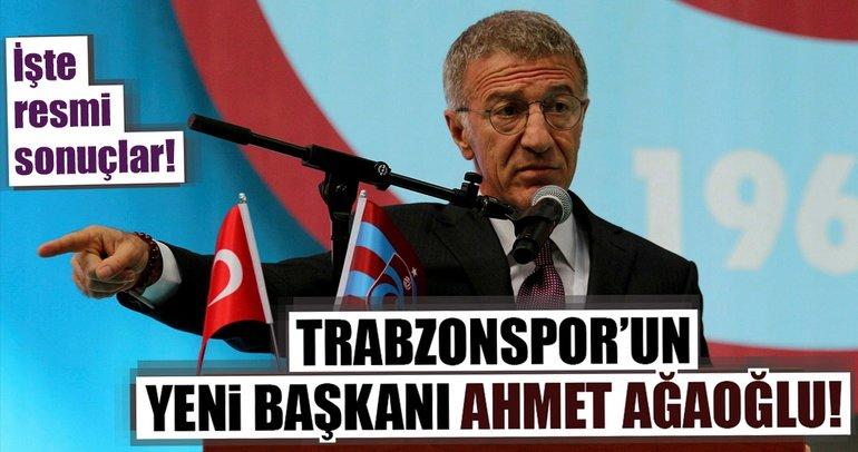 Son dakika haberi: Trabzonspor'da yeni başkan Ahmet Ağaoğlu!