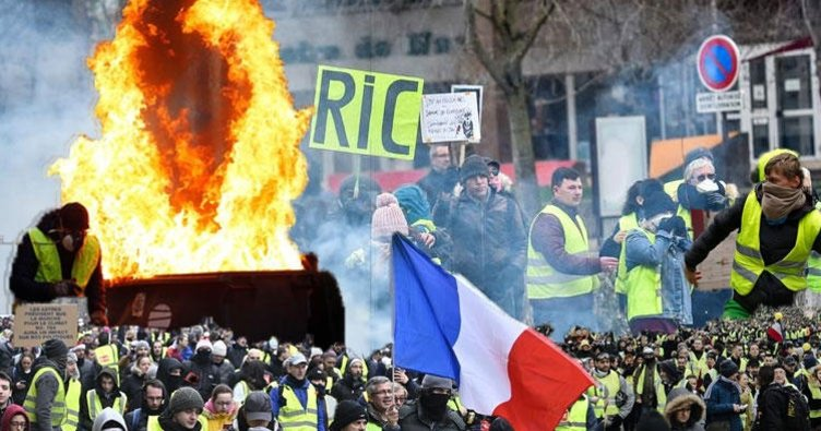 Fransa'da sarı öfke dinmiyor