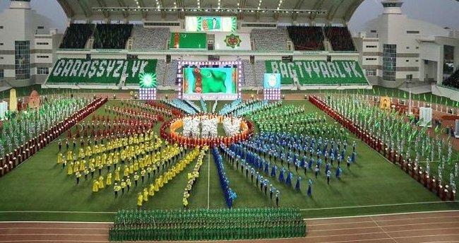 Türkmenistan'da Bağımsızlık coşkusu
