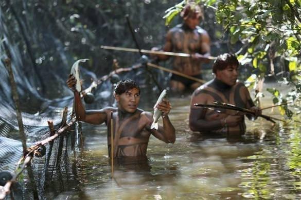 Amazon yerlileri ilk kez böyle görüntülendi