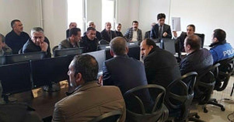 Kocaköy'de eğitim toplantısı yapıldı