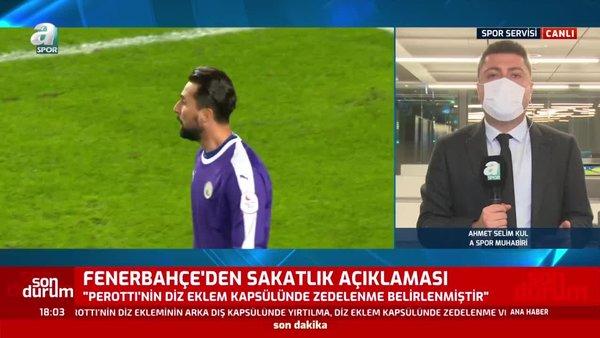 Ahmet Selim Kul: Perotti 3-4 hafta sahalardan uzak kalacak