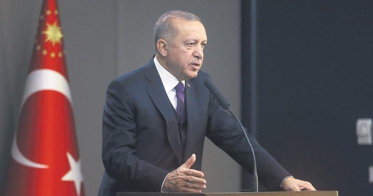 Erdoğan'dan Suriye konusunda dünyaya net mesaj
