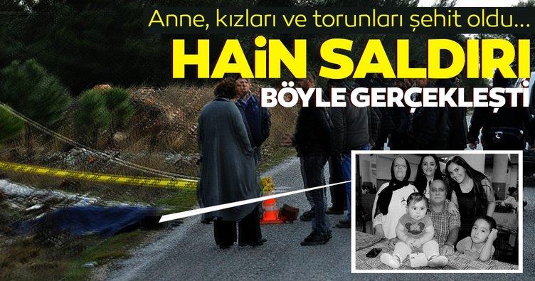 Tanıklar, 5 sivilin katledildiği saldırıyı PKK'lı teröristin nasıl gerçekleştirdiğini anlattı
