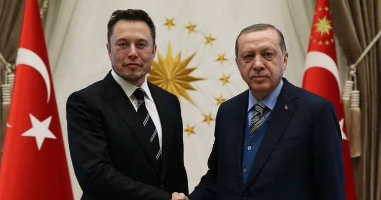 Cumhurbaşkanı Erdoğan Elon Musk'ı kabul etti