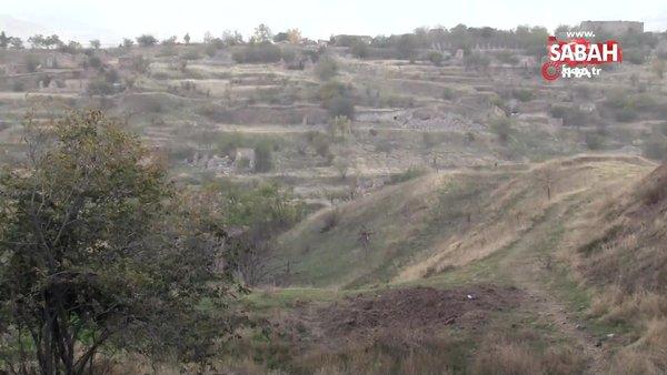Ermenistan işgalinden kurtarılan Cebrayıl'in eski kent merkezi görüntülendi   Video