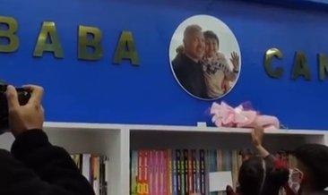 Şehit müdürün ismine kütüphane açtılar... Açılışı öğrenciler çiçeklerle yaptı #hakkari
