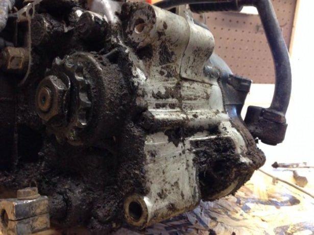 Külüstür motorunu bakın ne hale getirdi