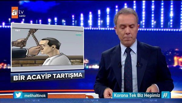 Melih Altınok'tan EBA TV'deki tartışılan görüntülerle ilgili açıklama