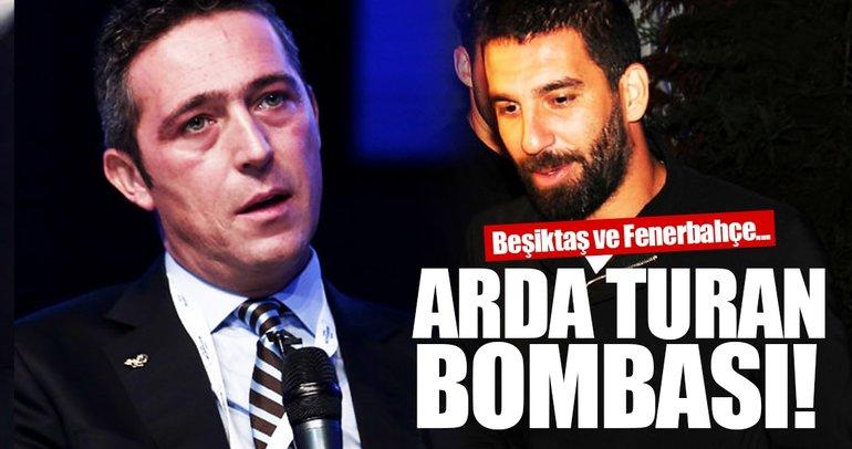Arda Turan bombası! Beşiktaş ve Fenerbahçe...