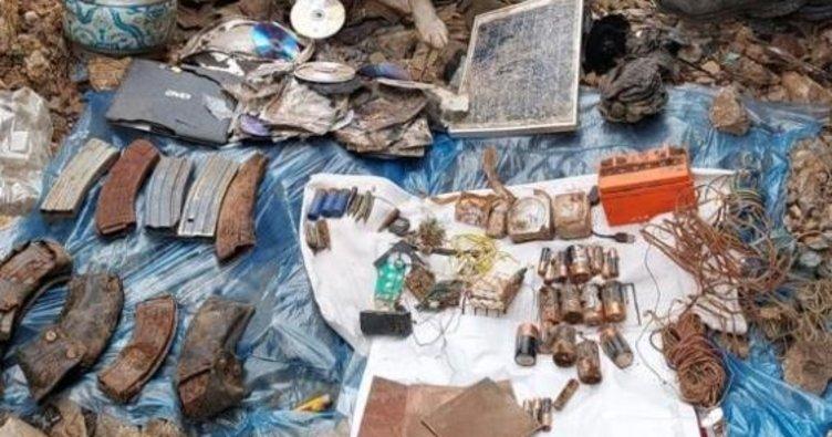 İnlerine kadar girdik! Tunceli'de teröristlerin kullandığı 8 sığınak imha edildi