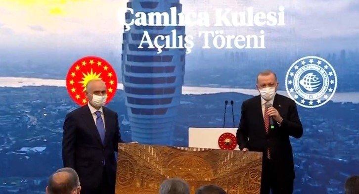 Avrupa'nın en yükseği İstanbul'un yeni simgesi Çamlıca Kulesi açıldı
