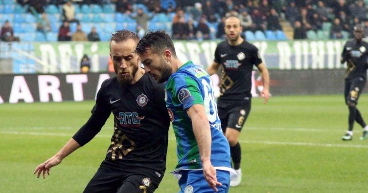 Özgür Çek, Rizespor'dan ayrıldı