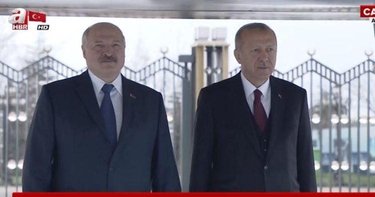 Belarus Cumhurbaşkanı Beştepe'de!