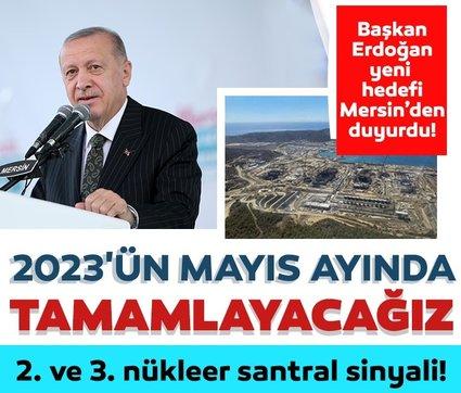 Son dakika haberi... Başkan Erdoğan'dan nükleer santral açıklaması: Amacımız 2. ve 3. nükleer santrale kavuşacak adımları atmaktır