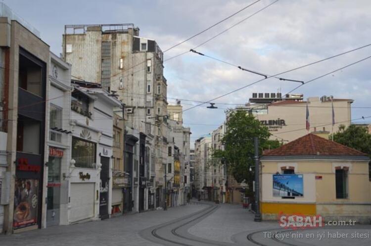 Son dakika! İstanbul boş kaldı! 4 günlük kısıtlamanın ilk günü