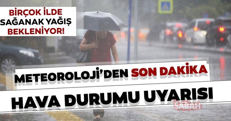 Son dakika haberi... 24 Ağustos hava durumu bugün nasıl olacak? Meteoroloji'den gök gürültülü sağanak yağış uyarısı!