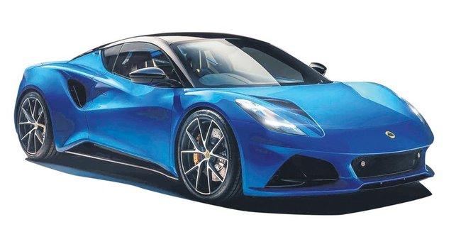 Son benzinli Lotus tanıtıldı
