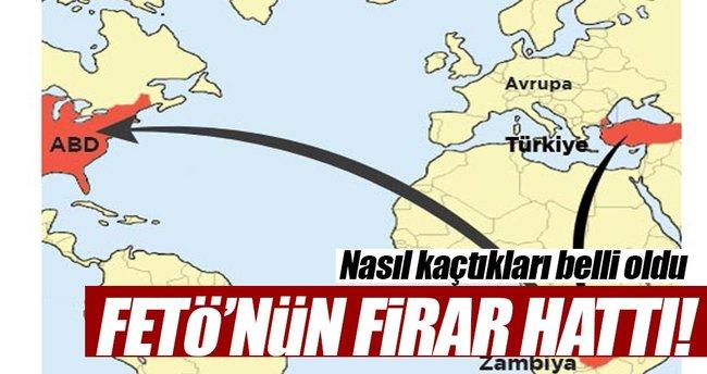 İşte 15 Temmuz'un sivil FETÖ'cülerinin firar hattı!