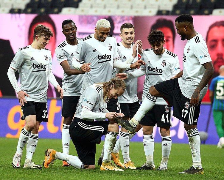 Beşiktaş Hatayspor karşısında seri peşinde! İşte Sergen Yalçın'ın 11'i...