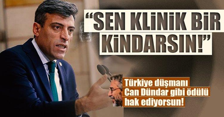 Türkiye düşmanı Can Dündar gibi ödülü hak ediyorsun!