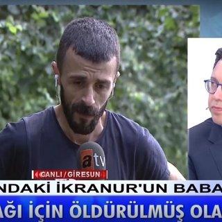 Son Dakika Haberi: İkranur Tirsi'nin ölümüne ilişkin ailesinden flaş açıklamalar! İkranur Tirsi'nin babası: Konuşacağı için öldürülmüş olabilir