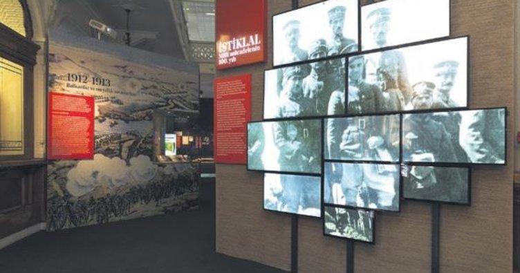 Milli mücadele'nin 100. yılında istiklal sergisi