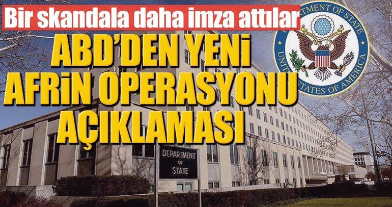 Son dakika: ABD yine skandal YPG açıklaması