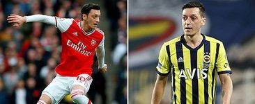 Mesut Özil'in 10 numarası paylaşılamıyor! 3 yıldız...