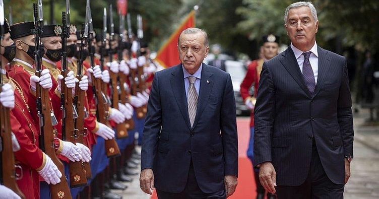 Son dakika: Başkan Erdoğan'dan Karadağ'da önemli açıklamalar