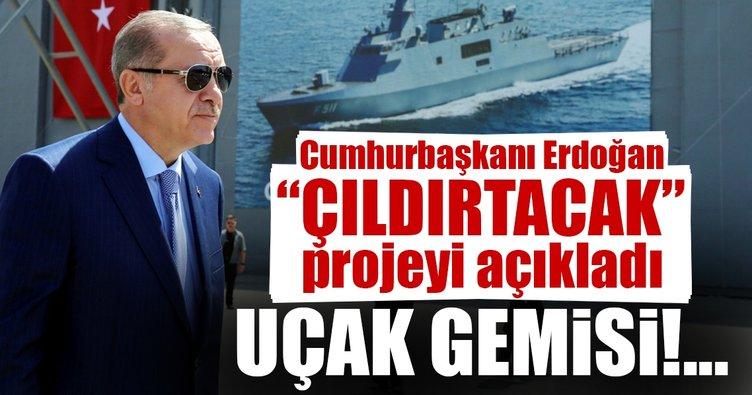 Cumhurbaşkanı Erdoğan: İnşallah uçak gemimizi de yapacağız