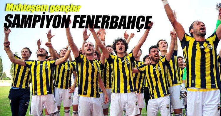 U21 Ligi Süper Kupası Fenerbahçe'nin