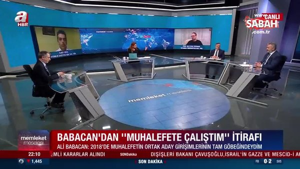 Ali Babacan'ın ihanetine sert tepki: Siyasi tarihe kara leke olarak geçti | Video