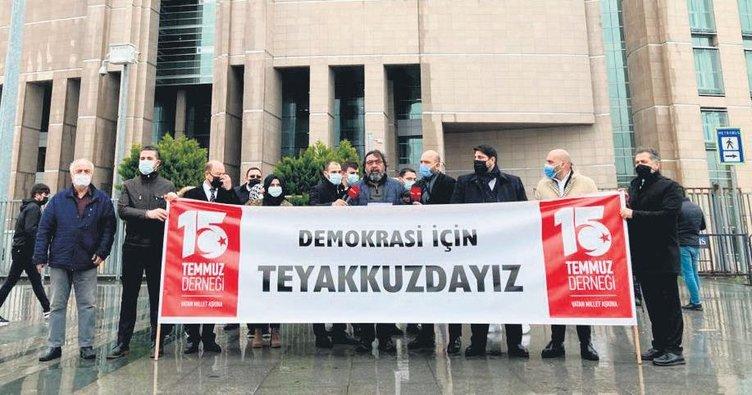 'Demokrasi nöbeti devam ediyor'