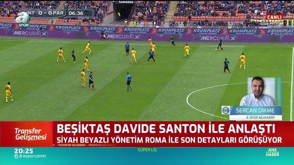 Beşiktaş sağ bekini buldu! Davide Santon...
