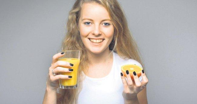 Güne taze portakal veya greyfurt suyu ile başlayın