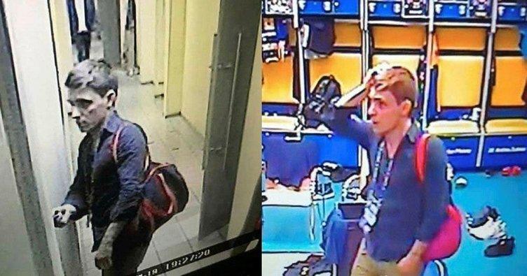 Rusya'da basketbol maçı sırasında soyunma odasına hırsız girdi