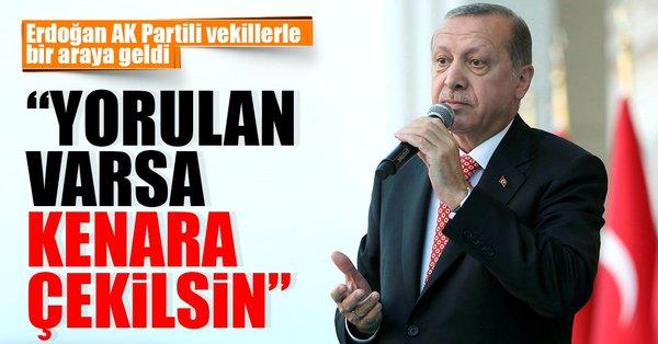 Son dakika: Cumhurbaşkanı Erdoğan AK Parti'de konuştu