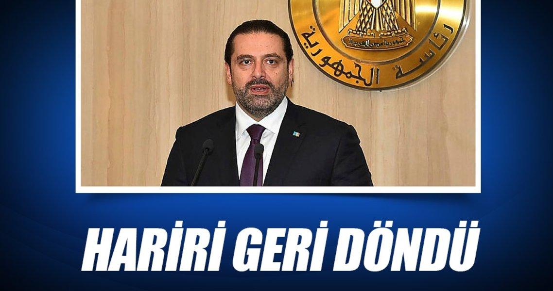 Saad Hariri ülkesine döndü